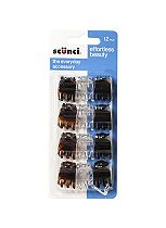 Scunci jaw hair clips 12s
