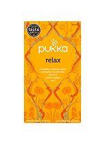 Pukka Organic Relax 20 Herbal Tea Sachets 40g