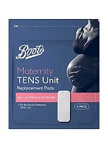 Boots TENS Maternity Unit Replacement Pads - 4 Pads