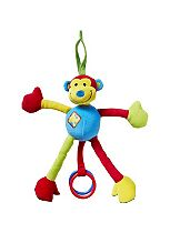 Nuby Jingle Jungle Monkey Teether Toy