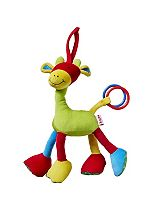 Nuby Jingle Jungle Giraffe Teether Toy