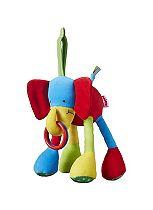 Nuby Jingle Jungle Elephant Teether Toy