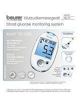 Beurer GL44WHT Blood Glucose Monitor