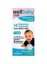 Vitabiotics Wellbaby Infant Liquid  6 x 150ml (Value Pack)