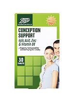 Boots Pharmaceuticals His & Her Conception Support, 30 + 30 tablets