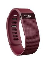 Fitbit Charge Wireless Activity and Sleep Wristband - Burgundy (Small)