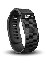 Fitbit Charge Wireless Activity and Sleep Wristband - Black (Small)