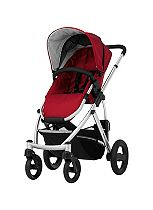 Britax Smile - Red / Silver Chassis