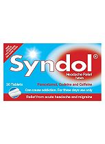 Syndol Headache Relief Tablets - 30 Tablets