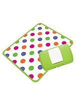 Koo-di B Box Essential Baby Box - Green Polka