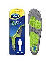 Scholl Gel Sport Insoles - Men