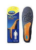 Scholl Gel Work Insoles - Men
