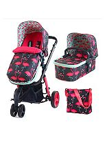 Cosatto Giggle 3 in 1 Travel System - Flamingo Fling