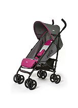 Joie Nitro Stroller - Charcoal/Pink