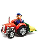 Peppa Pig Weeble Wobbily Tractor & Farmer