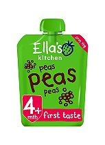 Ella's Kitchen Peas Peas Peas from 4 Months 70g