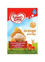 Cow & Gate Sunny Start Orange Porridge from 6 Months Onwards 125g