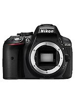 Nikon D5300 (Body Only) (24.2MP, 3.2 Inch Vari-angle LCD) Digital SLR Camera- Black