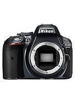 Nikon D5300 (Body Only) (24.2MP, 3.2 Inch Vari-angle LCD) Digital SLR Camera- Grey