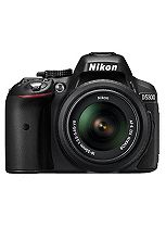 Nikon D5300 (18- 55mm VR Lens II) (24.2MP, 3.2 Inch Vari-angle LCD) Digital SLR Camera- Black