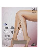 Boots Medium Support Tights 20 Denier Mist (1 pair)