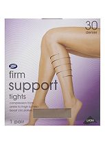Boots Firm Support Tights 30 Denier Natural Tan (1 pair)