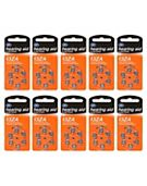 Boots hearing aid batteries 13ZA 6s 10 Pack Bundle (60 batteries)