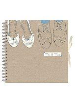 Anker Wedding Shoes Scrapbook Photo Album - 40 Sheets