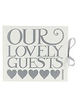 Emma Bridgewater Cream Wedding Guestbook- 40 Sheets
