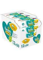 Pampers Baby Wipes New Baby Sensitive 50 x 12 Pack