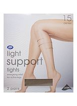 Boots Light Support Tights 15 Denier Mist