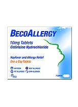BecoAllergy One-a-Day 10mg Tablets - 7 Tablets
