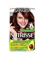 Garnier Nutrisse Crème Permanent Hair Colour 4.3 Cappuccino