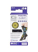 Neo G Travel and Flight Compression Socks Extra Large Black