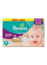 Pampers Active Fit Size 3 (Midi) Mega Box 90 Nappies