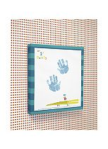 Mamas & Papas All Mine Imprint Canvas - Blue