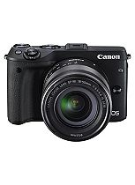 Canon EOS M3 (18- 55mm Lens) (24.2 MP, 3