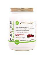 PhD Woman Greens & Berries Summer Fruits Flavour - 300g