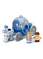 Fisher Price Little People Cinderella Winter Carriage