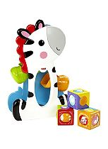 Fisher Price Roller Blocks Tumblin' Zebra