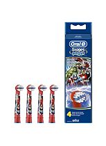 Oral-B Avengers Stages Power Toothbrush Heads - 4 Pack