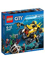 LEGO™ City - Deep Sea Submarine 60092
