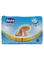 Chicco Dry Fit Mini Nappies Size 2 Maxi Pack - 50 Nappies