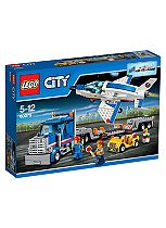 LEGO™ City Spaceport Training Jet and Transporter 60079