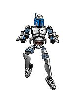 Lego Star Wars - Buildable Jango Fett 75107