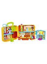 Sesame Street - Furchester Hotel Play-set with Figures