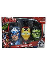 Marvel Avengers Toiletries Gift Set,  Shampoo, Hand Wash & Shower Gel