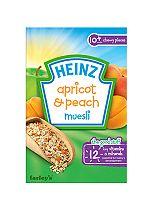 Heinz 10+ Months Apricot & Peach Muesli 200g