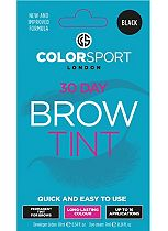 Colorsport 30 Day Brow Tint Black