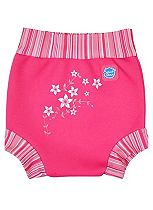 Splash About Happy Nappy Pink Blossom Medium 3 - 8 Months